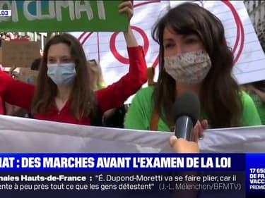 """Marche pour le climat: les manifestants dénoncent une loi """"dénuée d'ambition"""""""