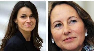 La ministre de la Culture, Aurélie Filippetti, et la présidente de la Région Poitou-Charentes, Ségolène Royal.