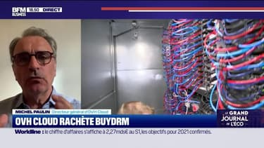 Michel Paulin (OVHcloud) : OVHcloud rachète BuyDRM - 27/07
