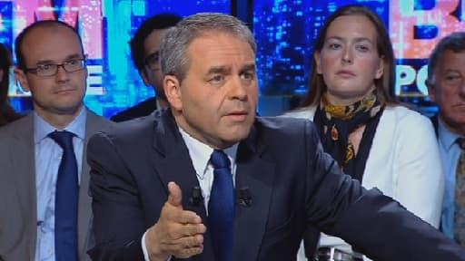 """Xavier Bertrand estime que Manuel Valls a été """"un très mauvais ministre de l'Intérieur""""."""