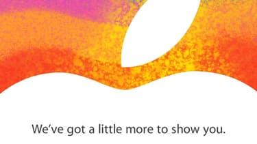 L'invitation d'Apple pour son annonce du 23 octobre 2012