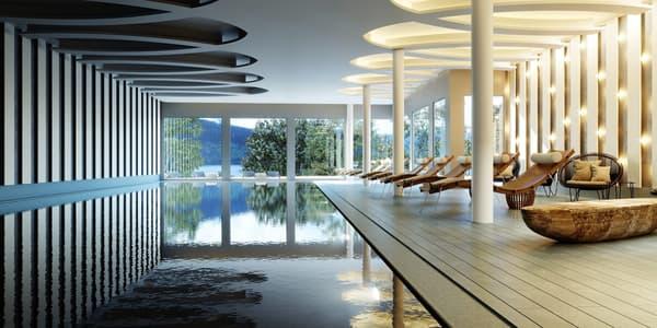 L'intérieur du nouveau palace en Suisse
