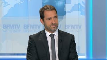 Christophe Castaner lundi soir sur BFMTV.
