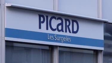 Enseigne Picard à Tours, en 2009.