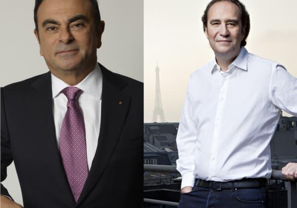 Carlos Ghosn et Xavier Niel reçoivent conjointement le Grand Prix BFM de l'édition 2014.