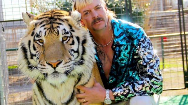 """Joe Exotic, personnage central de la série documentaire """"Tiger King"""""""