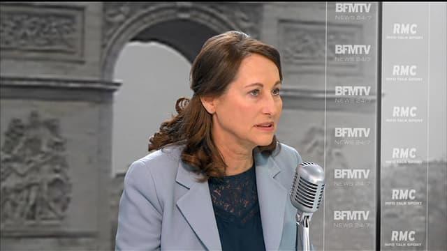 Invitée de BFMTV et RMC, Ségolène Royal a souhaité un gel des tarifs autoroutiers en 2015.