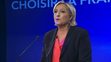 Marine Le Pen à Vincennes