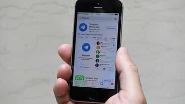 La messagerie Telegram dispose d'une application téléchargeable sur les smartphones