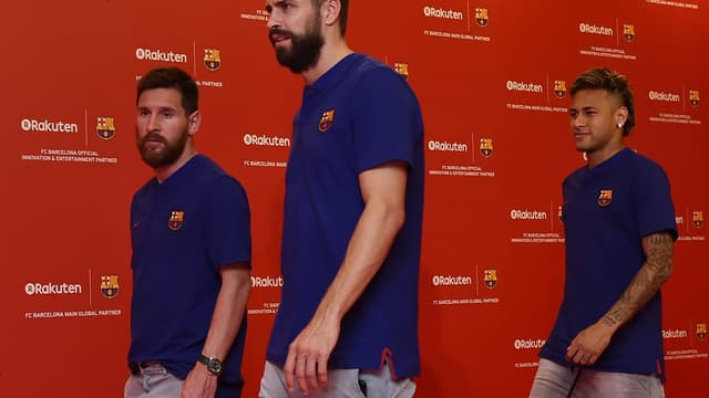 Messi, Piqué, Neymar