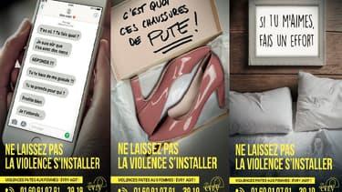 La campagne choc de la ville d'Evry contre les violences conjugales