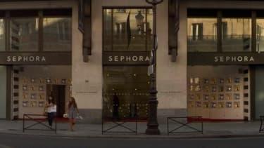 Sephora, qui fait partie de la branche distribution sélective de LVMH, gagne des parts de marché partout dans le monde