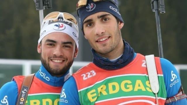Simon et Martin Fourcade