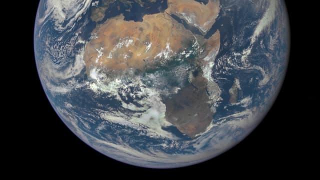 L'Afrique vue depuis l'espace.