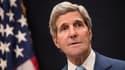 John Kerry lors de sa visite surprise en Egypte dimanche.