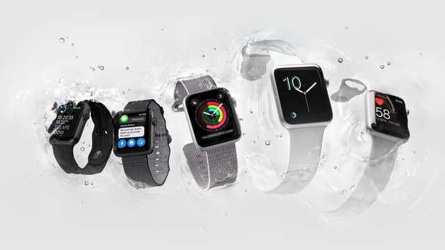 Avec sa montre, Apple s'arroge 16% du marché des objets connectés, selon une étude.