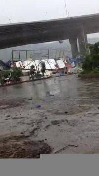 Taïwan balayé par le typhon Soudelor 2 - Témoins BFMTV