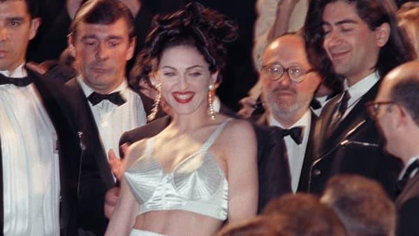 Madonna au Festival de Cannes en 1991