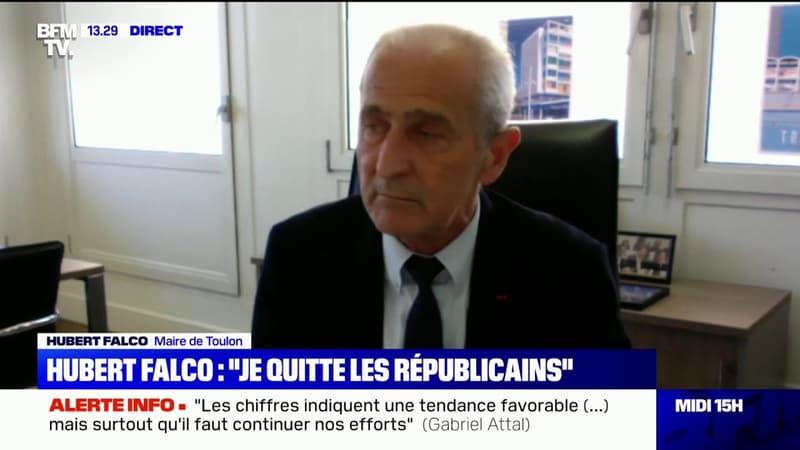 """Hubert Falco: """"Je n'exclus pas de travailler avec Emmanuel Macron"""""""