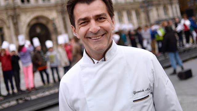 Yannick Alléno, le 13 octobre 2014, pendant la Semaine du goût à Paris.