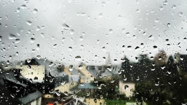 Un village du Morbihan sous la pluie (Photo d'illustration).