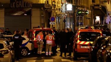 L'attaque a eu lieu dans le 2e arrondissement de Paris.