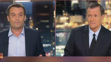 Florian Philippot et Francis Huster sur BFMTV.
