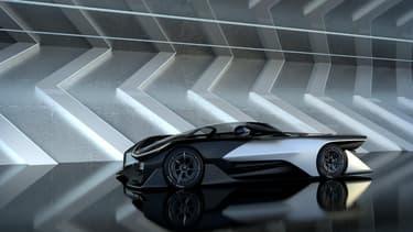 La supercar FFZERO1 est le premier modèle du constructeur américano-chinois Faraday.