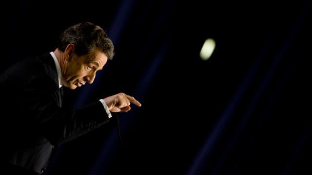 Nicolas Sarkozy à Saint-Maur-des-Fossés, le 9 mars 2015