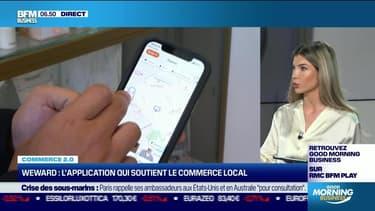 Commerce 2.0 : WeWard, l'application qui soutient le commerce local, par Noémie Wira - 20/09