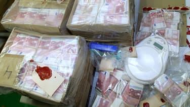 Bien que toujours valides, les billets de banque volés étaient destinés à être détruits. (photo d'illustration)