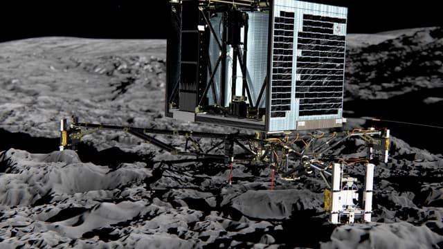 La tentative d'atterrissage de Philae, le robot de Rosetta, est pour le moment programmée le 11 novembre prochain.