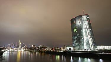 Le bâtiment principal de la Banque centrale européenne, à Francfort-sur-le-Main.