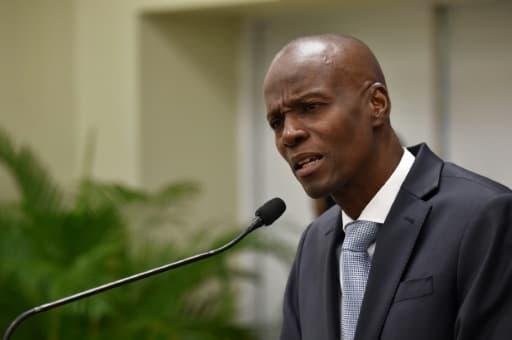 Le président haïtien Jovenel Moise, le 13 mars 2017 à Port-au-Prince