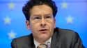 Le président de l'eurogroupe et ministre des Finances néerlandais Jeroen Dijsselbloem à une conférence de presse à Bruxelles le 25 mars 2013.