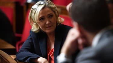 Marine Le Pen à l'Assemblée nationale - Image d'illustration