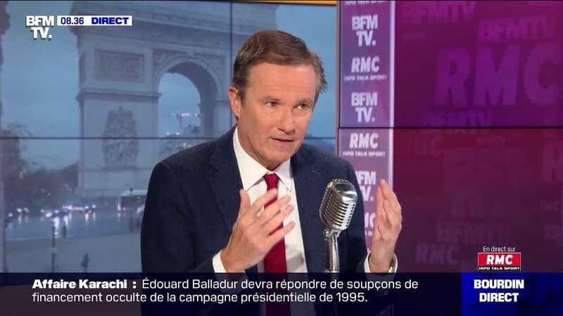 """Nicolas Dupont-Aignan regrette """"qu'on rentre comme dans un moulin"""" en France"""