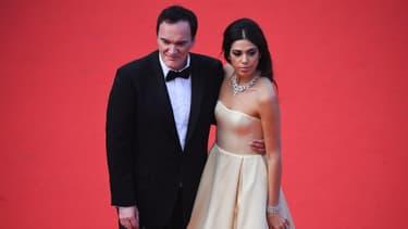 Quentin Tarantino et sa femme Daniella Pick à Cannes en mai 2019