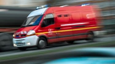 Selon les pompiers, l'agression s'est passée jeudi vers 22h.