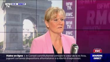 """Nadine Morano pense que """"Marine Le Pen n'a aucune chance d'être élue présidente de la République"""""""