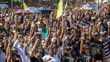 Les Guyanais réclament une aide plus conséquente de la part du gouvernement français.