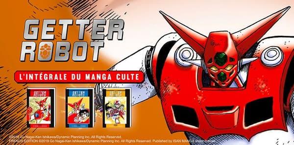 Getter Robot de Go Nagai