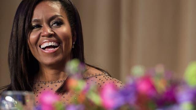 Michelle Obama est passée de la troisième à la première place du classement You Gov des personnalités les plus admirées