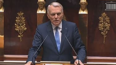 Jean-Marc Ayrault à l'Assemblée nationale mercredi 4 septembre