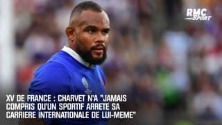 """XV de France : Charvet n'a """"jamais compris qu'un sportif arrête sa carrière internationale de lui-même"""""""