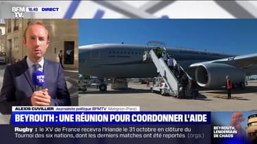 Explosions à Beyrouth: réunion en cours à Matignon pour coordonner l'aide de la France
