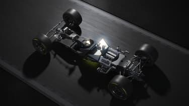 La future hypercar de Peugeot en endurance disposera d'un V6 hybride.
