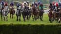 Figuero en route pour le Grand Steeple-Chase de Paris
