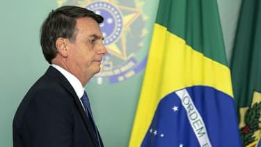Le président du Brésil, Jair Bolsonaro - Image d'illustration