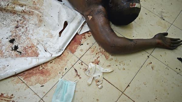 Une victime de l'attaque de l'université de Garissa, photographiée le 4 avril.